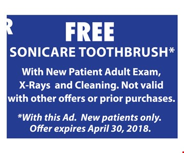 Free Sonicare Toothbrush