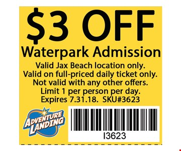 Localflavor Com Adventure Landing Waterpark 33 For 2