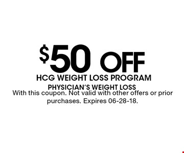 $50 offWith this coupon. Not valid with other offers or prior purchases. Expires 06-28-18.