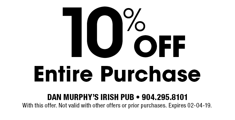 Treat yourself to huge savings with Murphy of Ireland Promo Codes: 8 deals for February 12222.