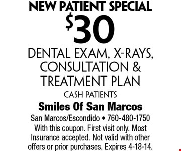 $2,895 Dental implants  start to finishIncludes C.T Scan, Extraction,  Implant Placement, Temporary Abutment Crown & Bone Graft  With this coupon. Not valid with other offers or prior purchases. Offer expires 4-18-18.