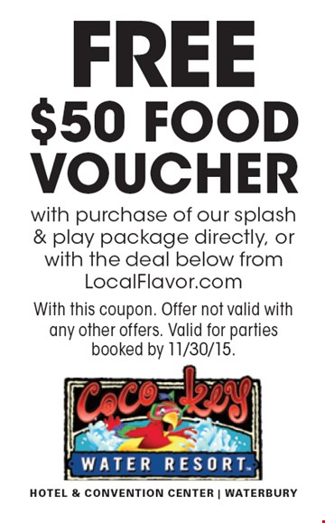 Thundering water local discount coupons