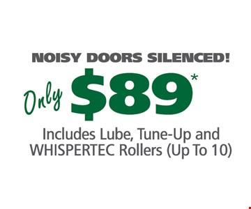 Noisy doors silenced for only $89