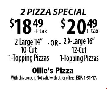 $20.49+ tax 2 X-Large 16