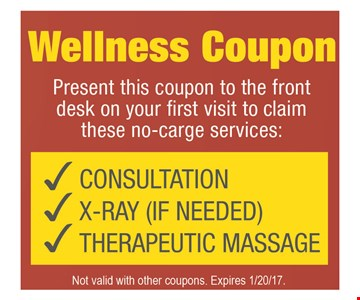 Wellness coupon