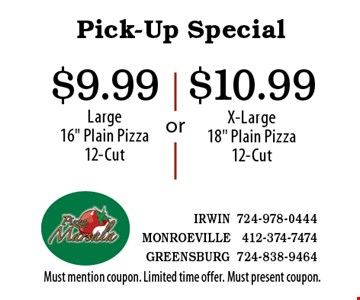 Pick-Up Special $10.99 X-Large18