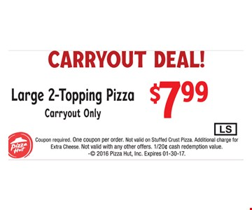 Carryout Deal $7.99