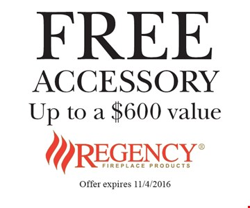 FREE ACCESSORY. Up to a $600 value. Offer expires 11/4/2016