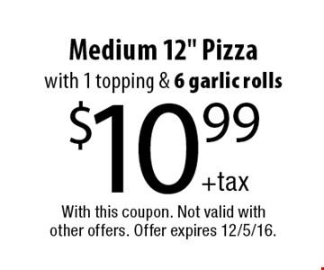 $10.99 Medium 12