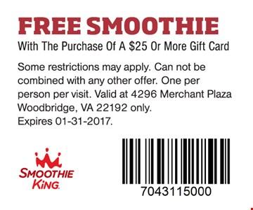 free smoothie