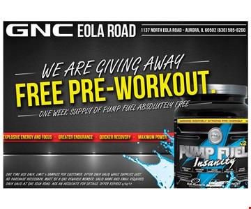 Free Pre-Workout