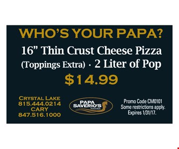 Who's Your Papa? $14.99