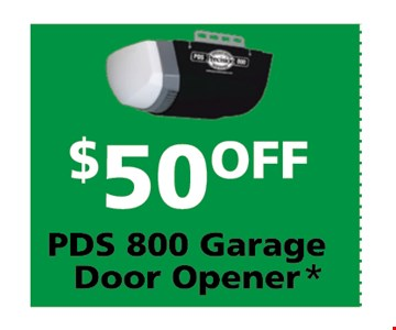 $50 off PDS 200 Garge Door Opener