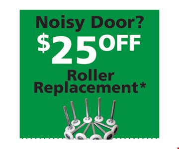 $25 Off Roller Replacement