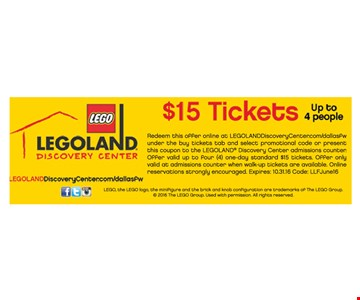 Tickets for $15.