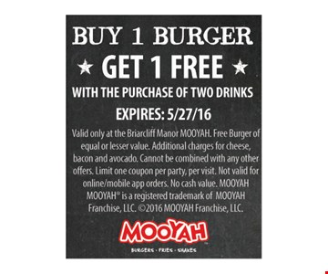 Buy 1 Burger Get 1 Free