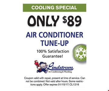 Only $89 air conditioner tune-up