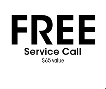 FREE Service Call $65 value. Expires 11/18/16