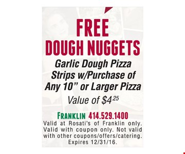 Free Dough Nuggets