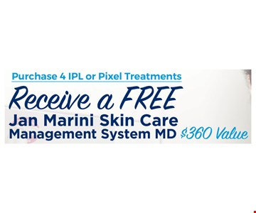 Receive a free Jan Marini Skin Care Management System