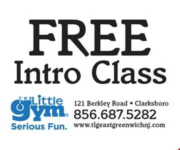 FREE Intro Class.