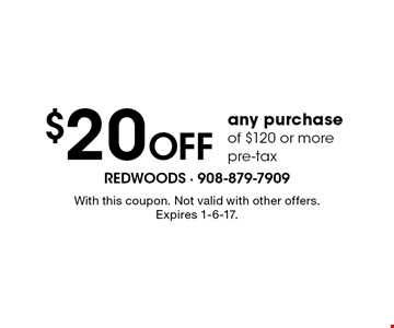 $10 off any purchase of $60 or more pre-tax. With this coupon. Not valid with other offers. Expires 1/6/17.