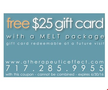 Free $25 gift card