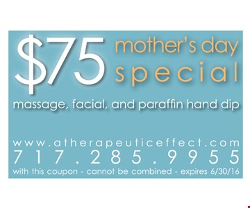 $75 Mother's Day Special