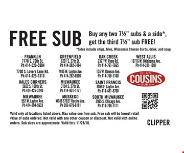 Free sub