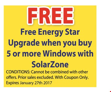 Free energy star upgrade