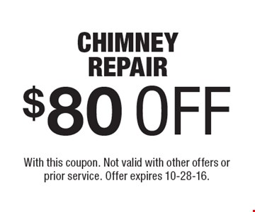 $150 OFF ANY JOB OF $1000 OR MORE. With this coupon. Not valid with other offers or prior service. Offer expires 10-28-16.