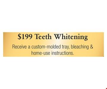 $199 Teeth Whitening
