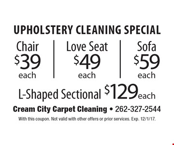 $109.99 2 rooms & stairs carpet cleaning. Any room up to 200 sq. ft. With this coupon. Not valid with other offers or prior services. Offer expires 5-26-17.