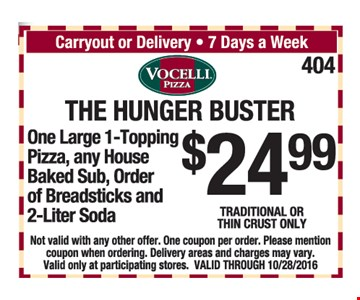 The hunger buster $24.99
