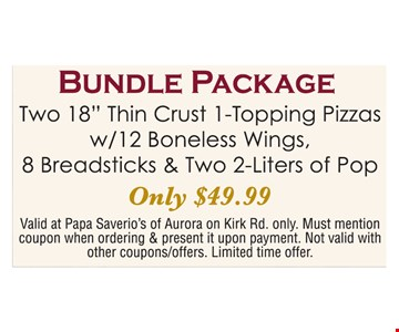 $49.99 Bundle Package