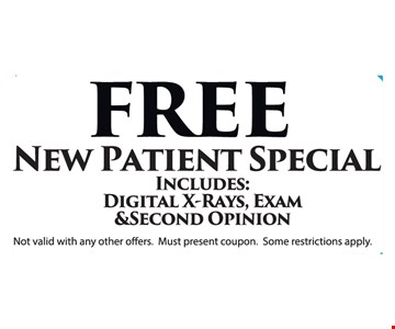 Free New Patient Special