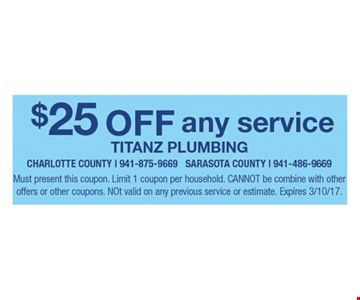 $25 off any service.
