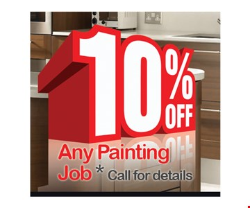 10% off any painting job