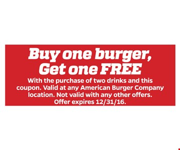 Buy one burger, get one free
