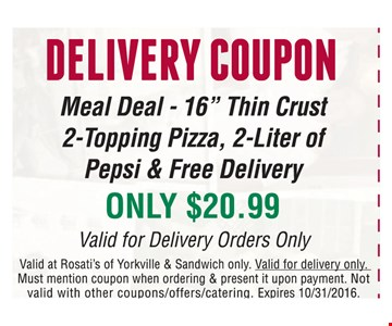Delivery Coupon-Meal Deal-16