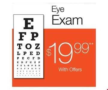 $19.99 Eye Exam