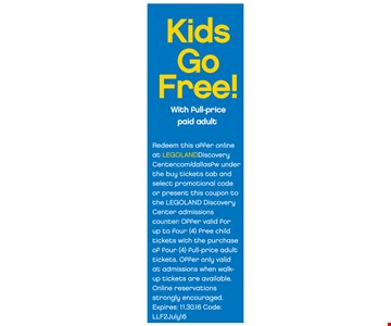 Kids Go Free!