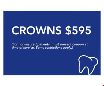 Crowns $595