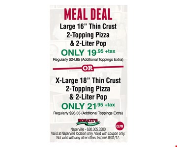 Meal Deal. Large 16