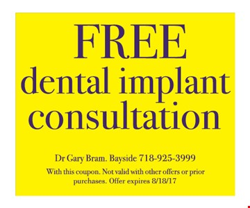 Free Dental Implant Consultation