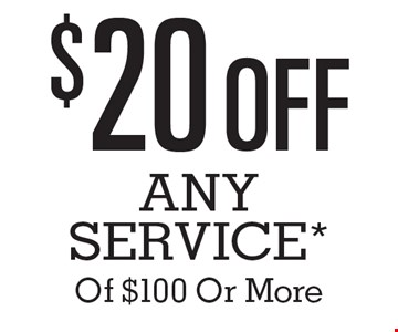 $20 Off Any Service* Of $100 Or More. *Contact the Quick Lane Tire & Auto Center at 443-461-1150 for vehicle applications and details. Cannot be combined with other specials. Cannot be applied on sales or service prior to October 1, 2016. The Works includes up to five quarts of Motorcraft oil and filter. Taxes, diesel vehicles and disposable fees extra. Hybrid battery test excluded. No Appointment Necessary. Offers expire 12/31/16.
