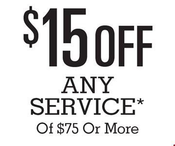 $15 Off Any Service* Of $75 Or More. *Contact the Quick Lane Tire & Auto Center at 443-461-1150 for vehicle applications and details. Cannot be combined with other specials. Cannot be applied on sales or service prior to October 1, 2016. The Works includes up to five quarts of Motorcraft oil and filter. Taxes, diesel vehicles and disposable fees extra. Hybrid battery test excluded. No Appointment Necessary. Offers expire 12/31/16.
