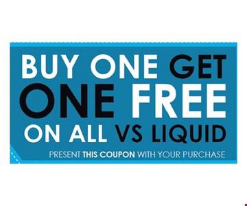 Buy one liquid, get one free