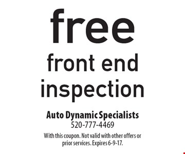 free battery check. With this coupon. Not valid with other offers or prior services. Expires 6-9-17.