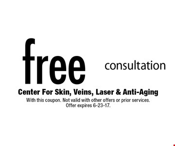free consultation. With this coupon. Not valid with other offers or prior services. Offer expires 6-23-17.